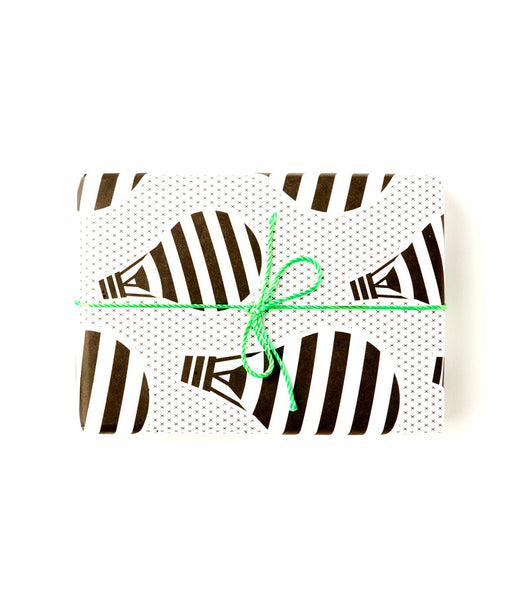 Hot Air Balloons Wrap | Black + White