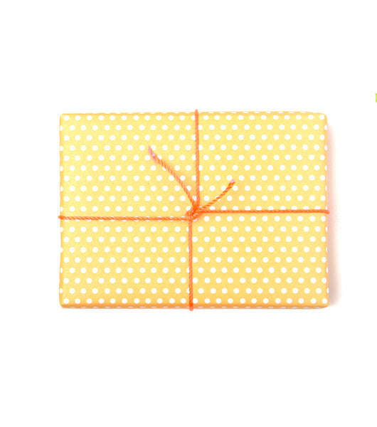 Pin Dot Wrap | Creamsicle