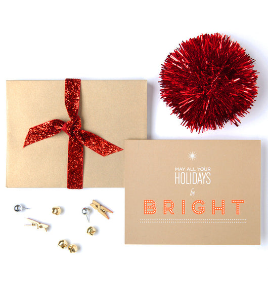Holiday Bulb Type Boxed Set