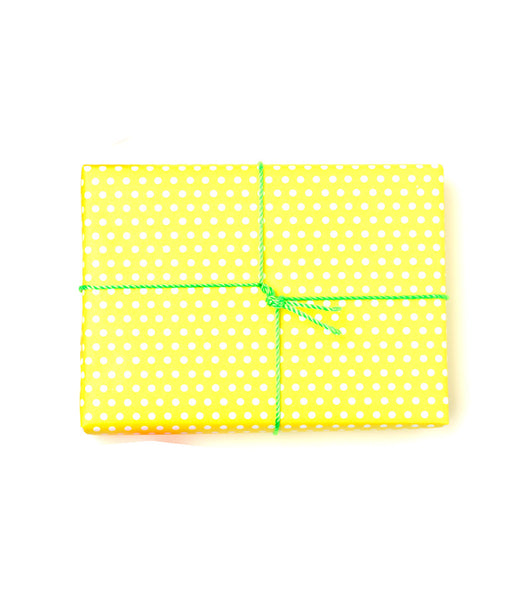 Pin Dot Wrap | Limoncello