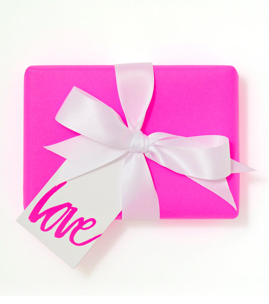 Love Gift Tag Pink