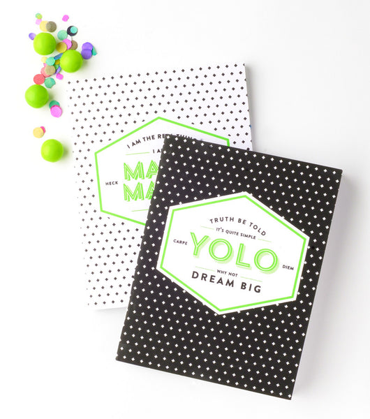 Magic Maker + YOLO Notebook Set