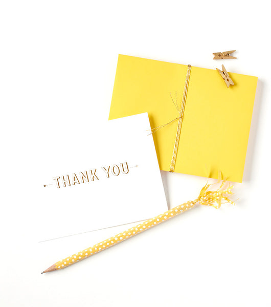 Thank You | Striped Block Arrow Boxed Set