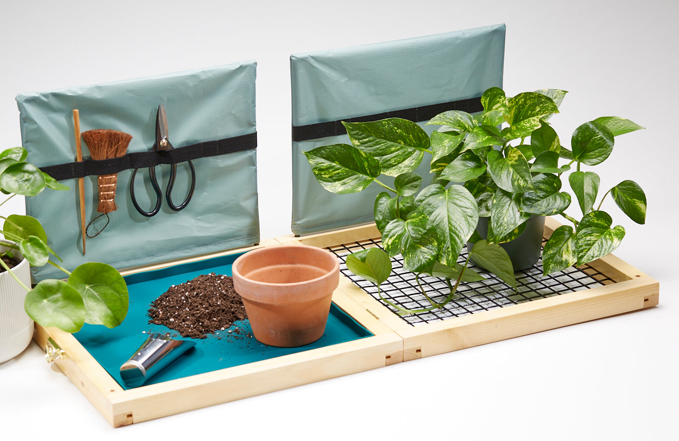 Plantfolio - The Indoor Potting Station