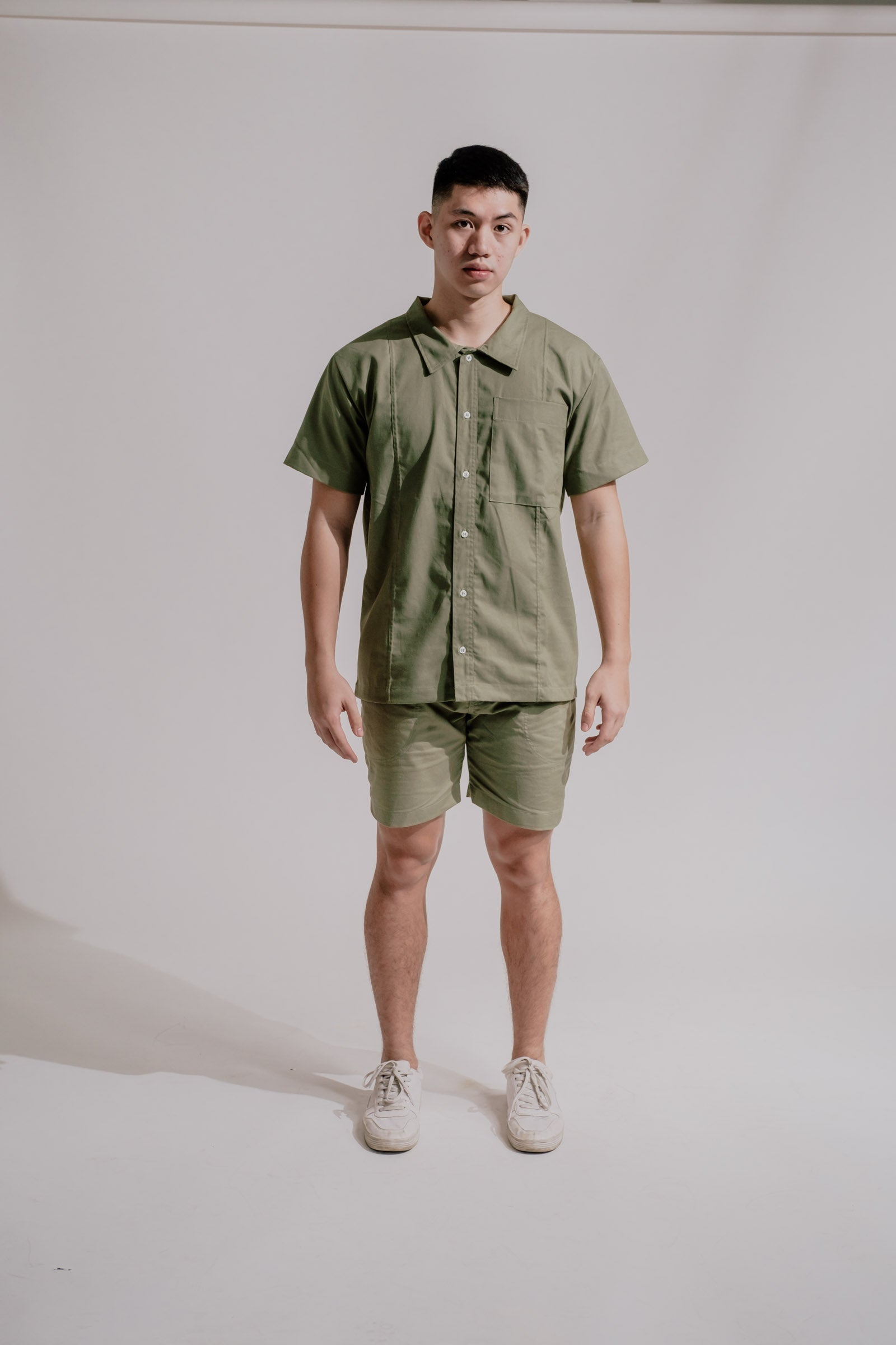 Rewind Shirt in Pine