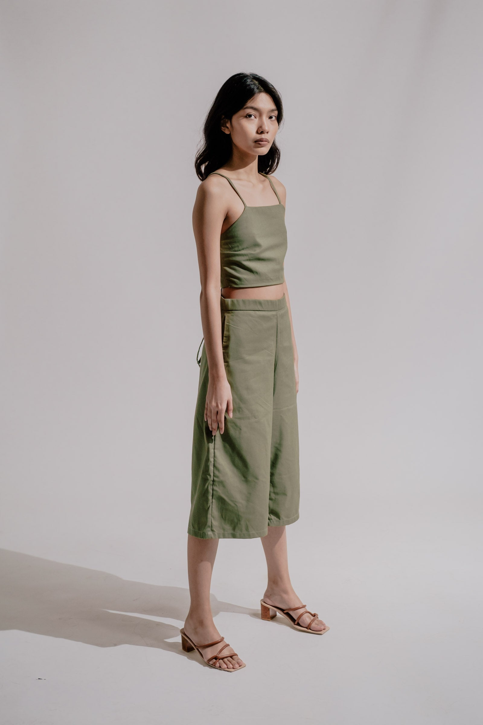 Revolve Trousers in Pine