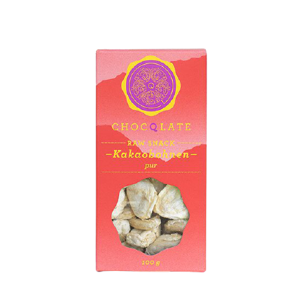 Raw Cacao Bean Snack - Rohe Kakaobohnen Snack Chocqlate