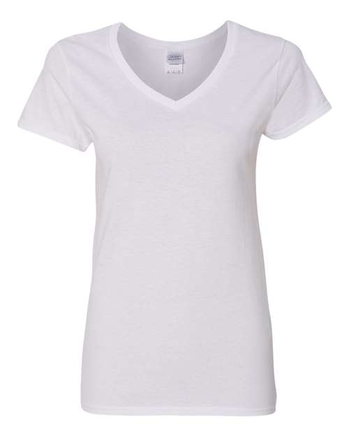 Gildan - Heavy Cotton Women's V-Neck T-Shirt