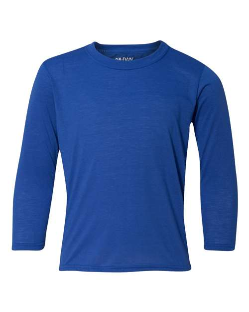 Gildan - Performance Youth Long Sleeve T-Shirt