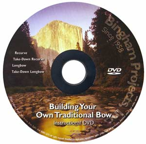 Building Your Own Bow DVD