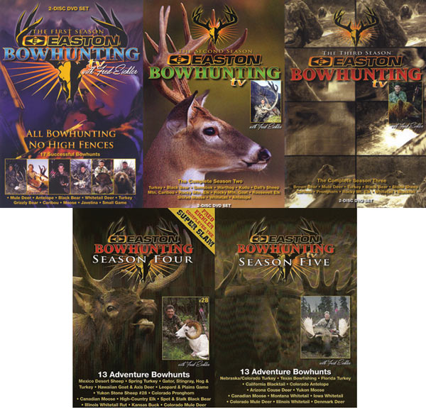 Easton Bowhunting DVD Set of Five
