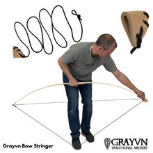 Load image into Gallery viewer, Grayvn Longbow and Recurve Stringer