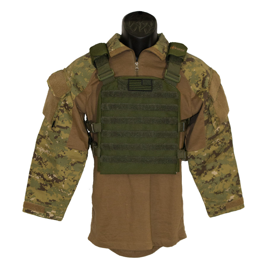 Youth Plate Carrier OD Green