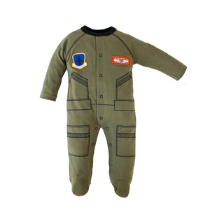 Flight Suit Baby Crawler