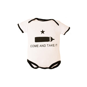 Come and Take It Baby Bodysuit