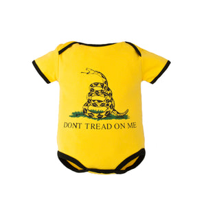 Don't Tread On Me Baby Bodysuit