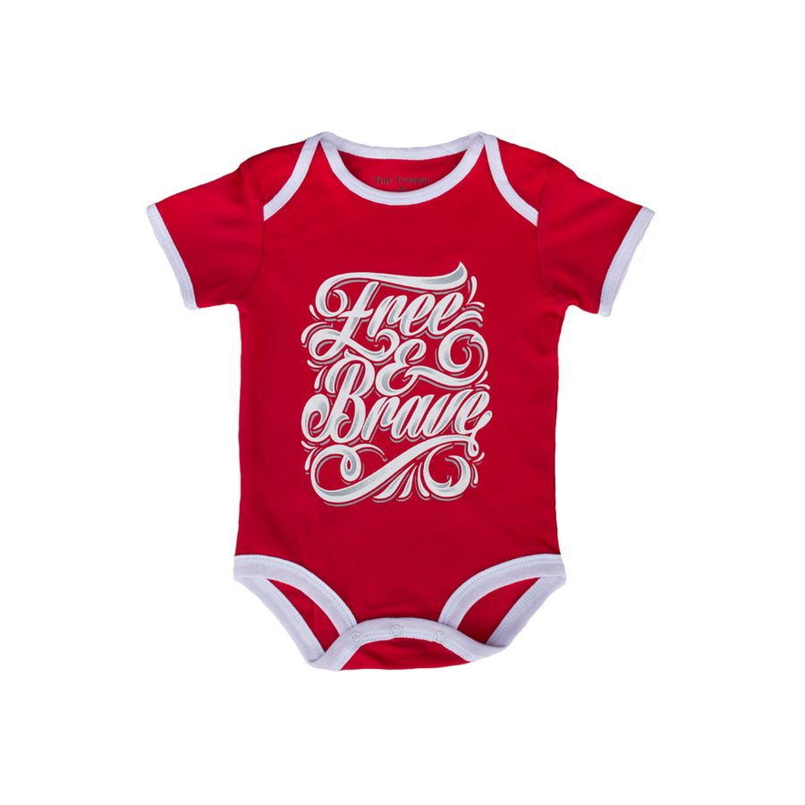 Free and Brave Baby Bodysuit