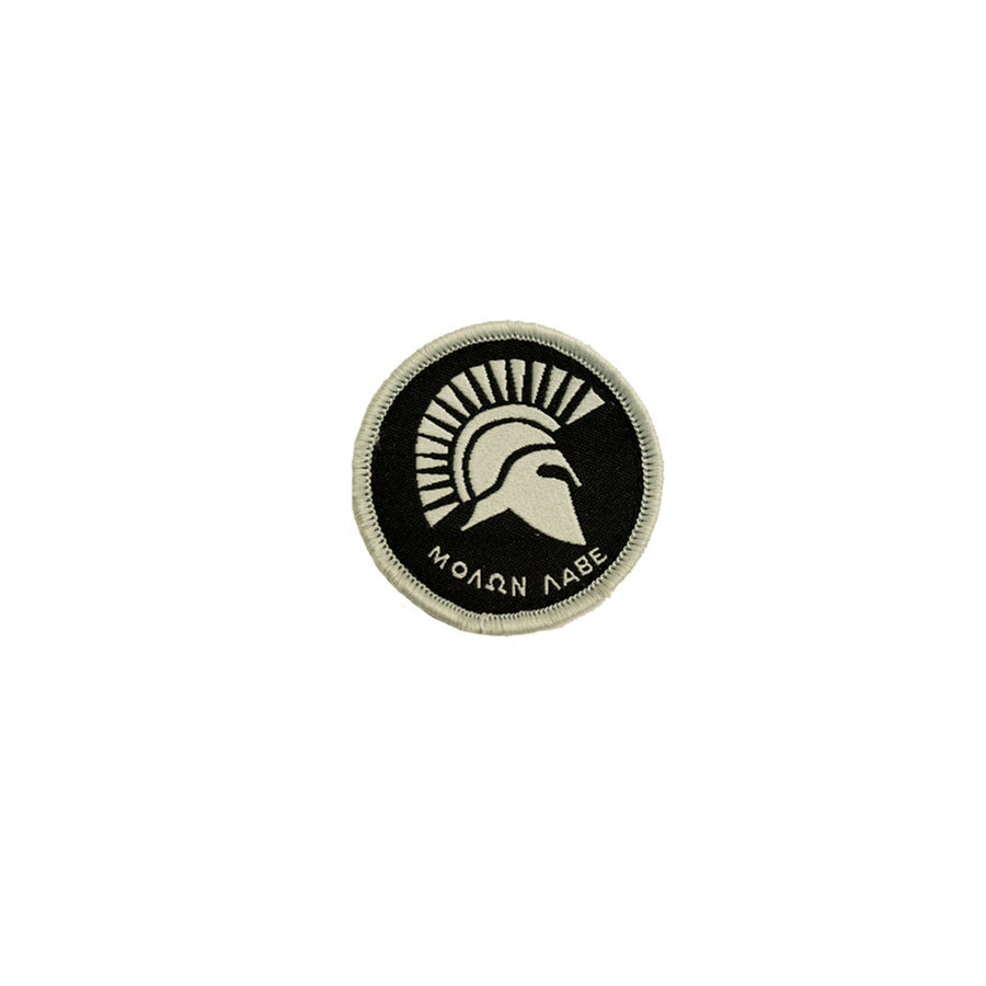 Molon Labe Spartan Patch Gray