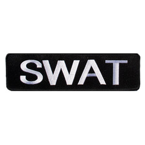 SWAT Large Banner Patch