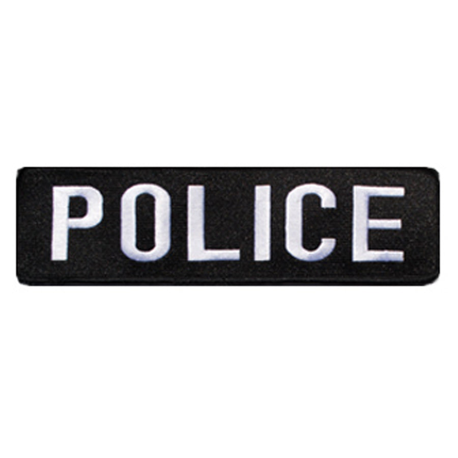 Police Large Banner Patch