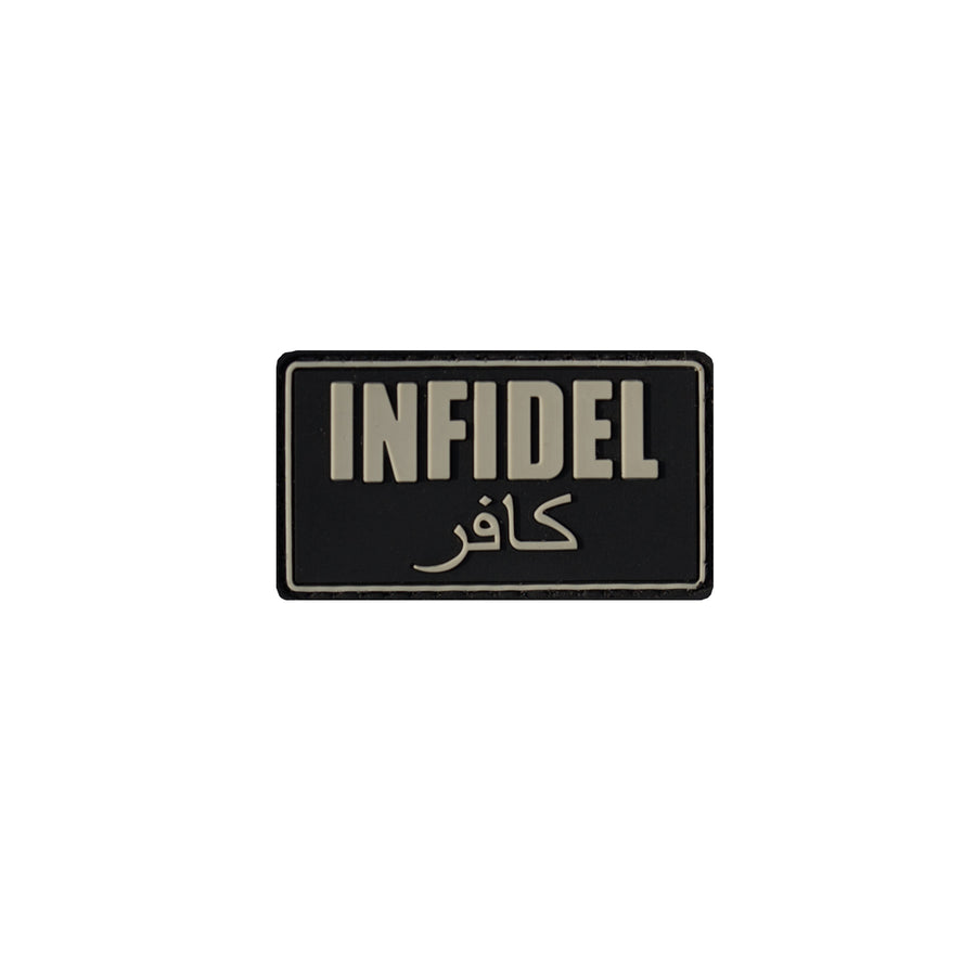 Infidel Patch Black