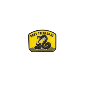 Don't Tread on Me Patch Yellow PVC
