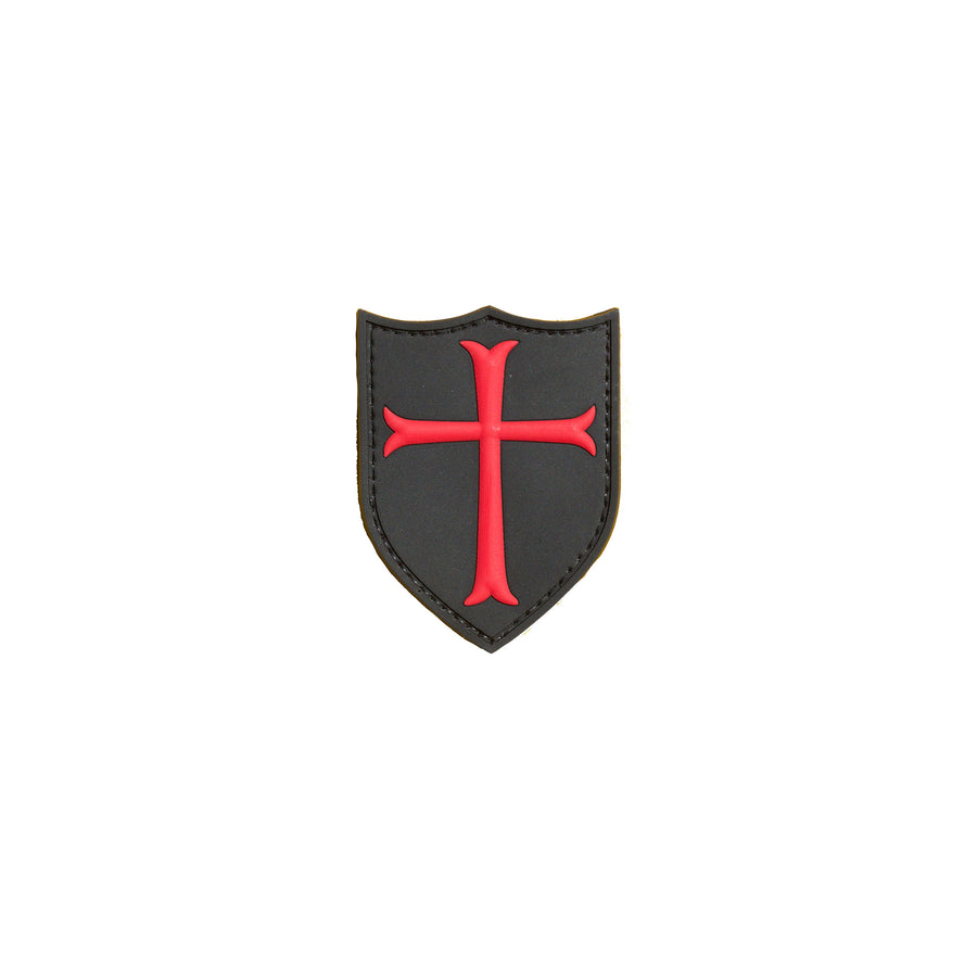 Crusaders Cross PVC Patch