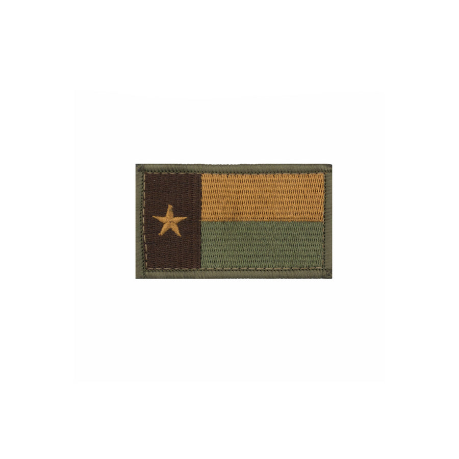 Subdued Texas Flag Patch Multitan