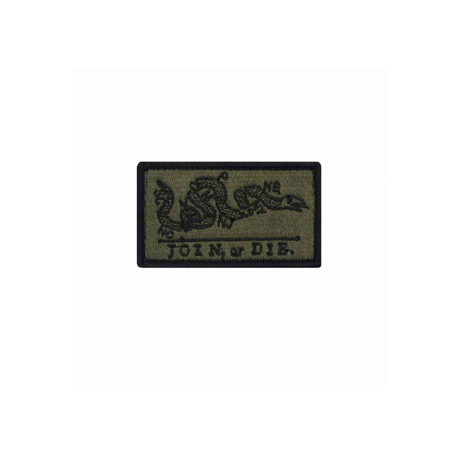 Join or Die Patch OD Green and Black