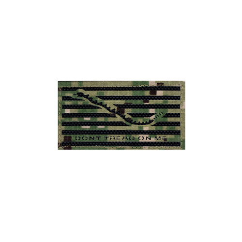 Laser Cut Navy NWU Type III Don't Tread on Me Patch