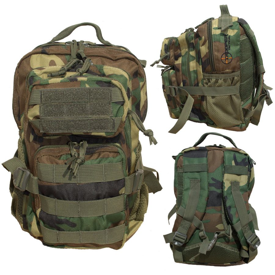 Youth M81 BDU Woodland Tactical Backpack