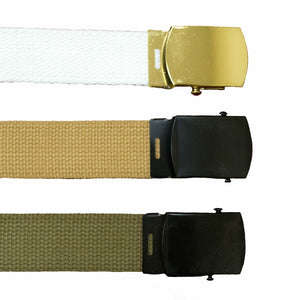 Youth Military Style Webbed Belt