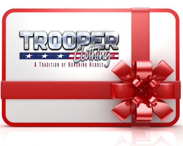 Trooper Clothing Gift Card