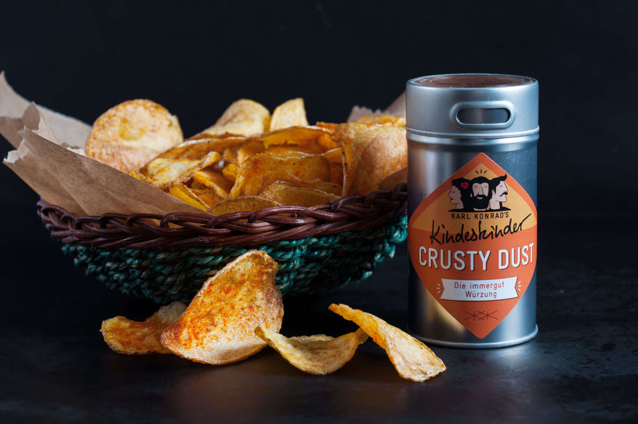 REZEPT-TIPP: Homemade CRUSTY DUST Kartoffelchips