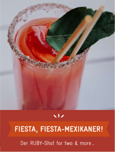 REZEPT-TIPP: Fiesta, Fiesta MEXIKANER aka spicy HALLOWEEN BLOODY MARY!