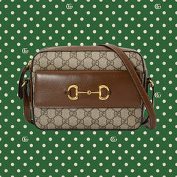 Gucci Epilogue Bag H Shoul S G.1955 Hors Gg Sup B.Eb/Brown Sugar (64545492TCG8563)