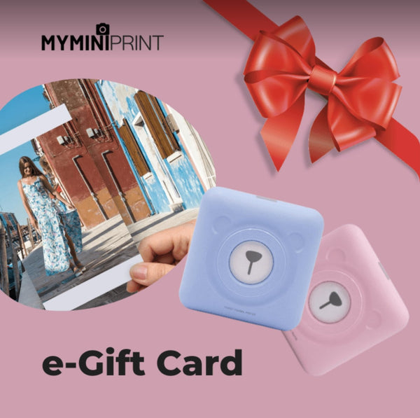 My Mini Print Gift Card - My Mini Print
