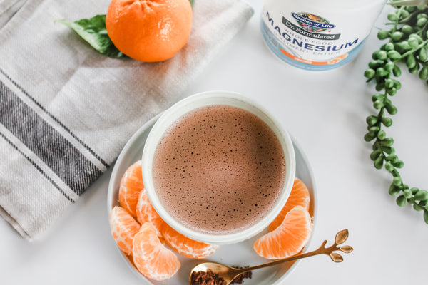 Relaxing Orange Hot Cocoa