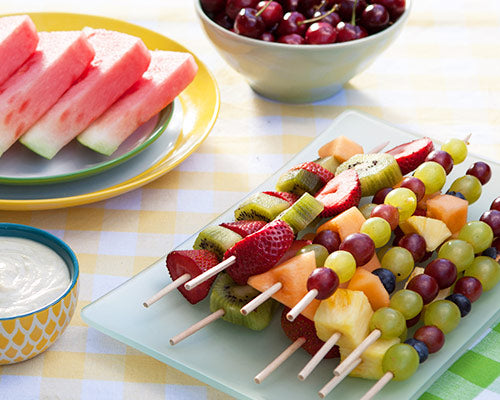 Fruit Skewer Salad