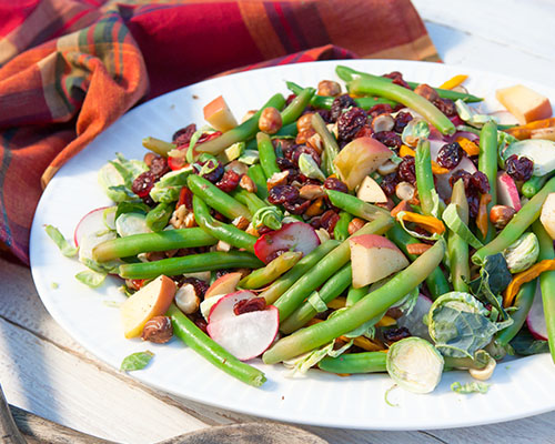 Green Bean & Brussels Sprouts Salad