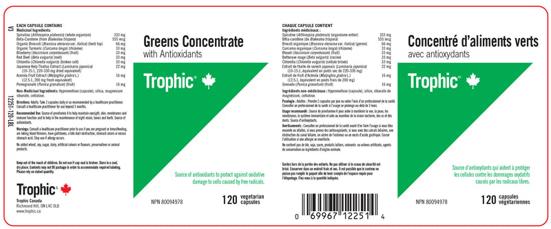 Greens Concentrate