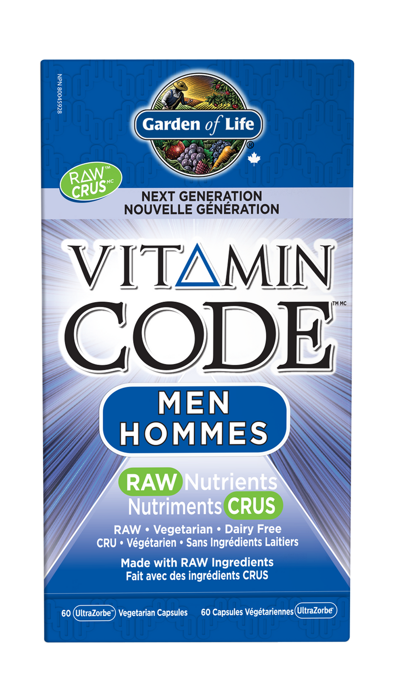 Vitamin Code™ Men RAW Nutrients