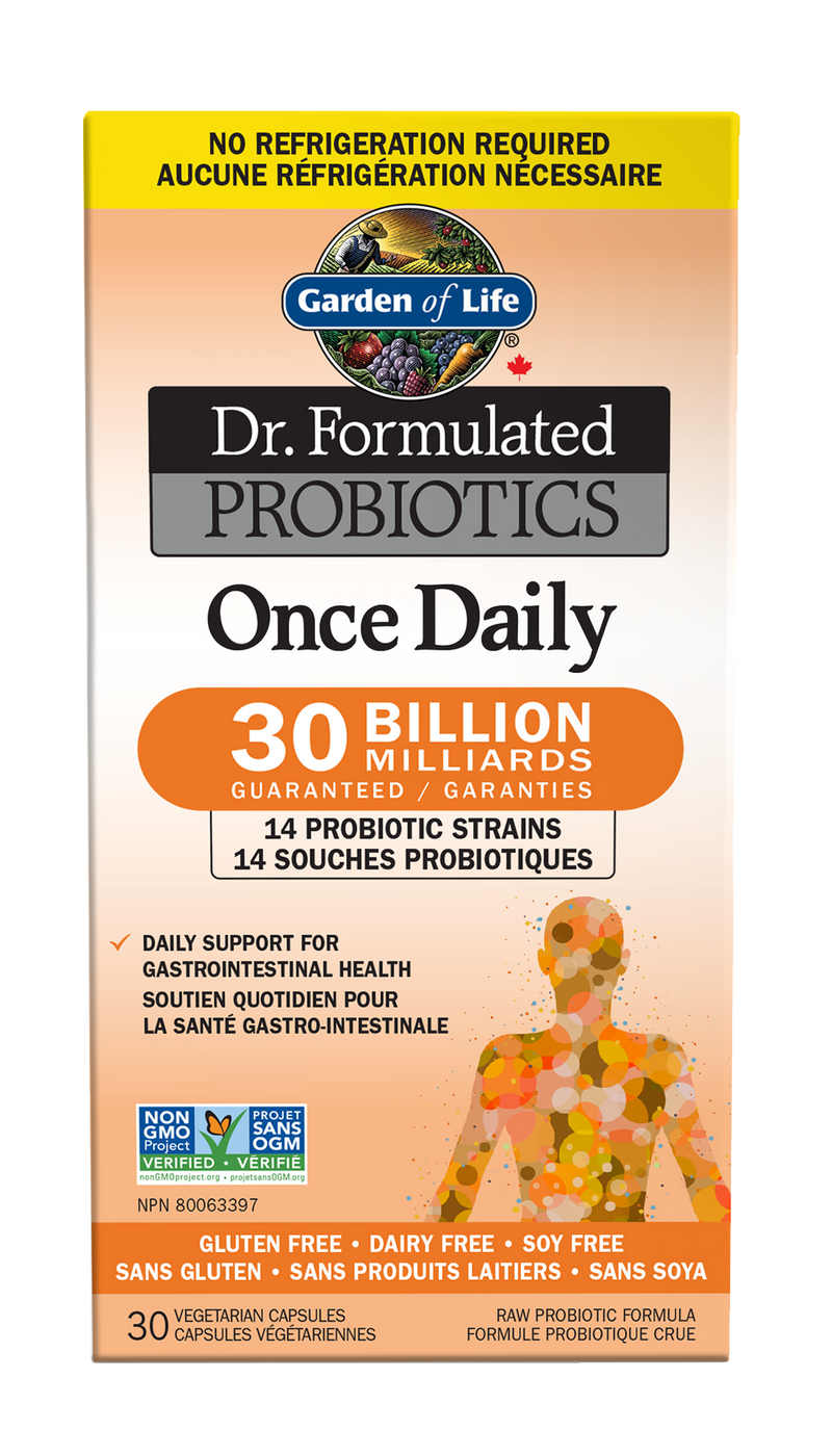 Dr. Formulated Probiotics Once Daily