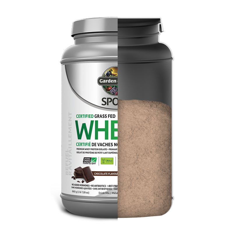 SPORT Certified Grass Fed Whey - Chocolate