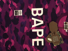 Bape Purple Camo Tee DS