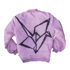 "*new* SHCCK ""Real Crane"" Bomber Jacket"