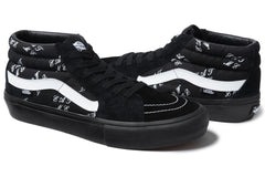 "*new* Supreme x Vans Sk8 Mid ""Eat Me"" DS 9.0"