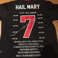 Supreme Hail Mary Football Jersey - XL DS