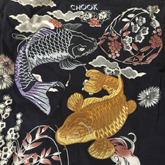 *new* Chook Embroidered Koi Freezer Jacket
