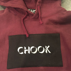 *new* CHOOK Heavyweight Hoodie - Burgundy